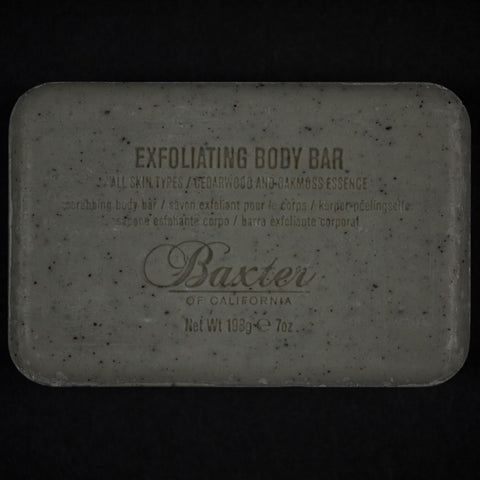 BAXTER EXFOLIATING BODY BAR - THE LODGE  - 1