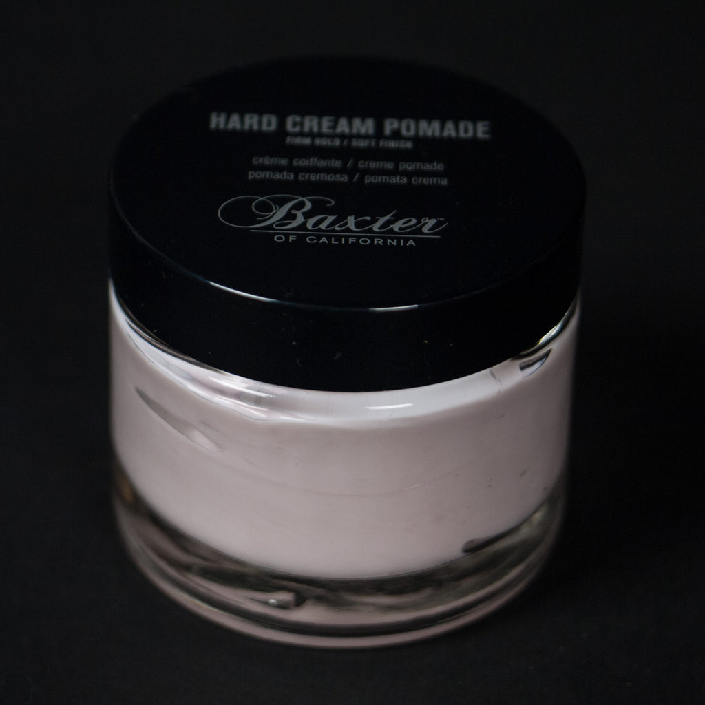 BAXTER HARD CREAM POMADE - THE LODGE  - 3