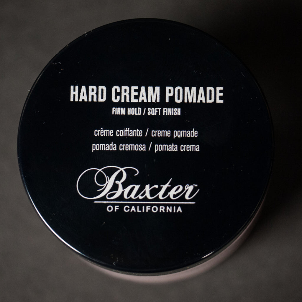 BAXTER HARD CREAM POMADE - THE LODGE  - 2