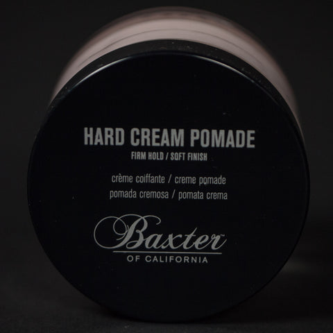 BAXTER HARD CREAM POMADE - THE LODGE  - 1