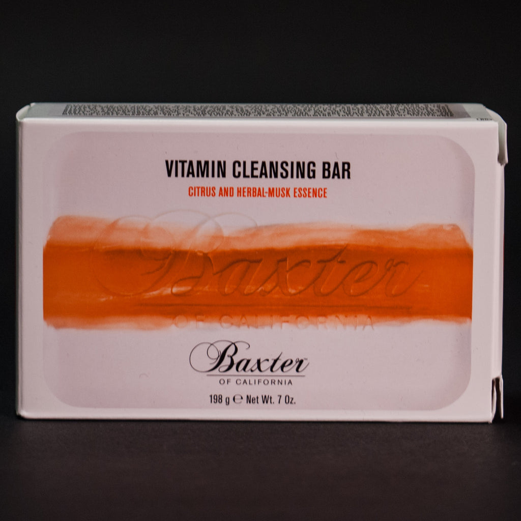 Baxter of California Vitamin Cleansing Bar Herbal Musk at The Lodge
