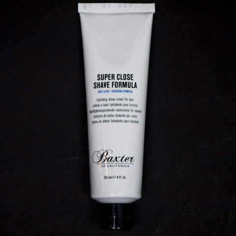 Baxter Super Close Shave Cream 4 ounce at The Lodge Man Shop