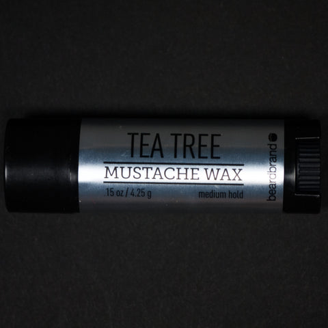 MUSTACHE WAX - TEA TREE - THE LODGE  - 1