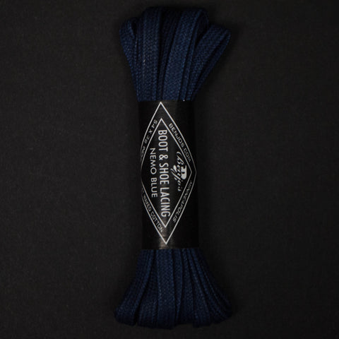 "Benjos Nemo Blue 54"" Boot Laces at The Lodge"