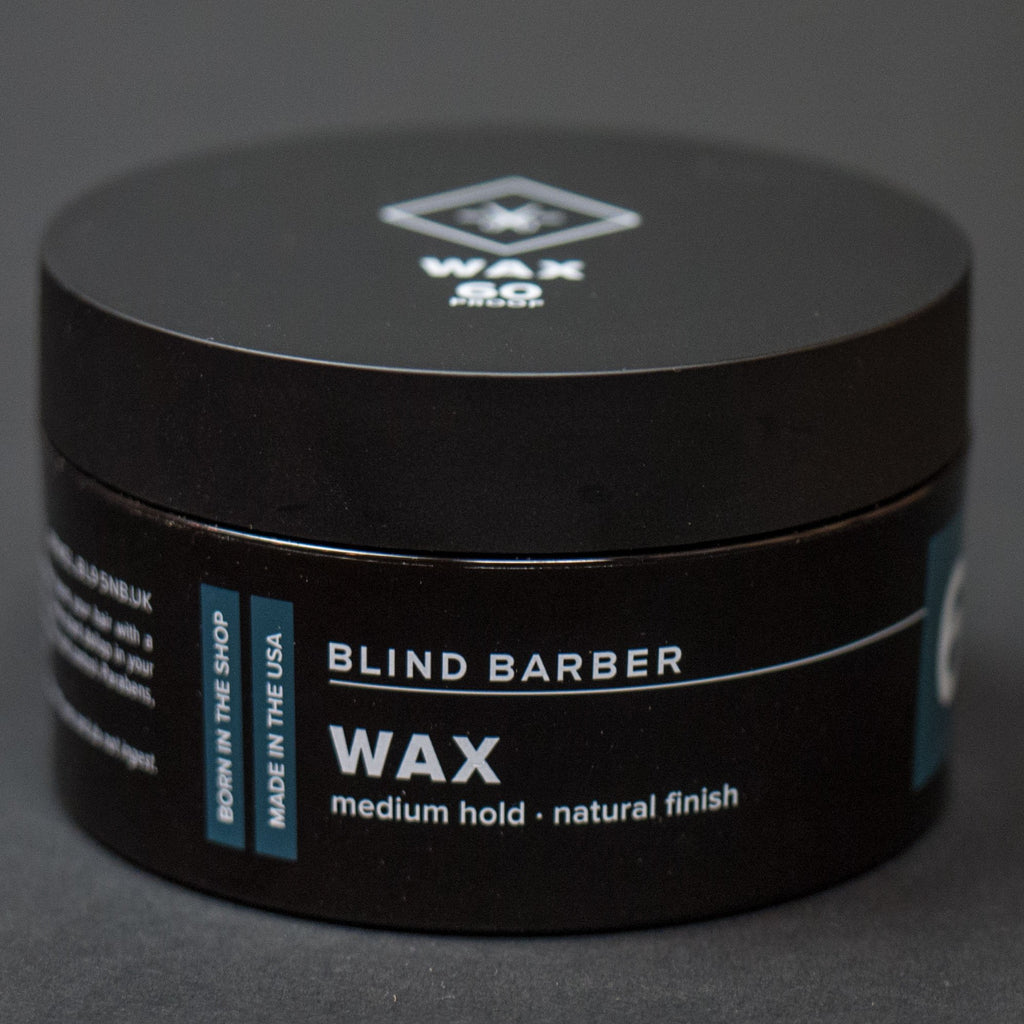 60 PROOF WAX BLIND BARBER