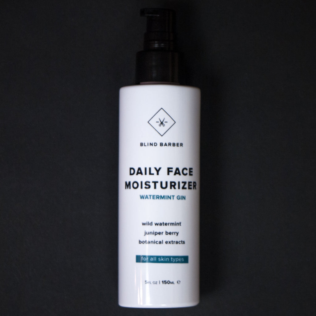 Blind Barber Daily Face Moisturizer Watermint Gin at The Lodge