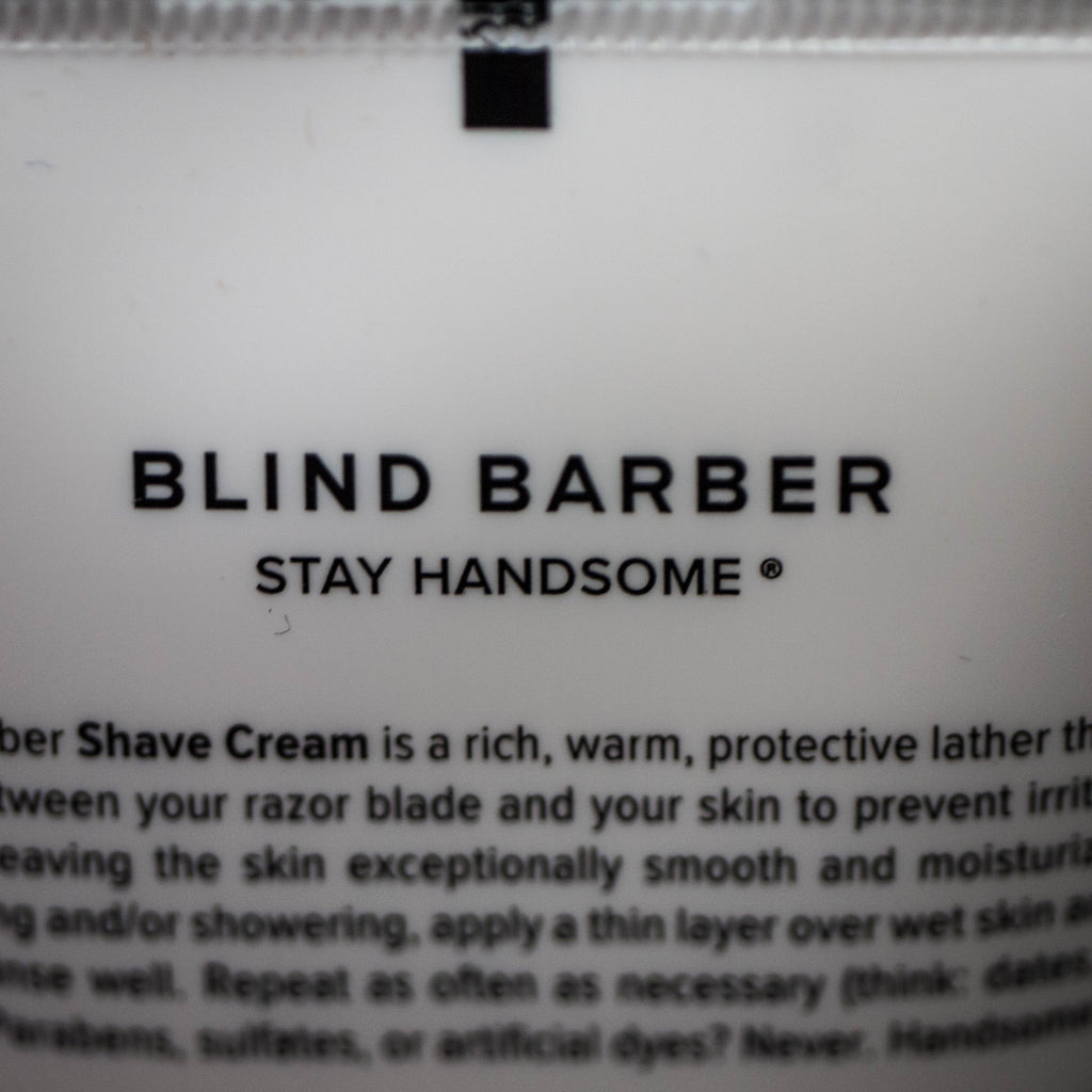 WATERMINT GIN SHAVE CREAM BLIND BARBER