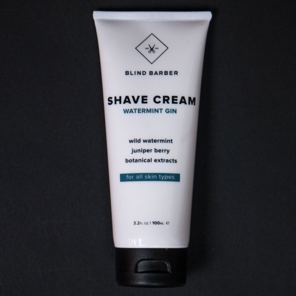 Blind Barber Watermint Gin Shave Cream at The Lodge