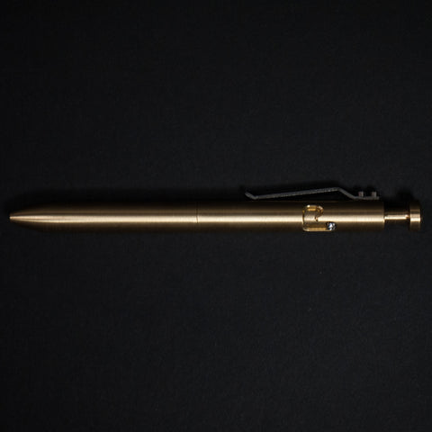 THE BOLT BRASS PEN - THE LODGE  - 1
