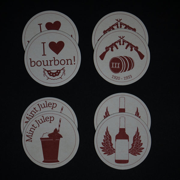 BOURBON COASTERS - THE LODGE
