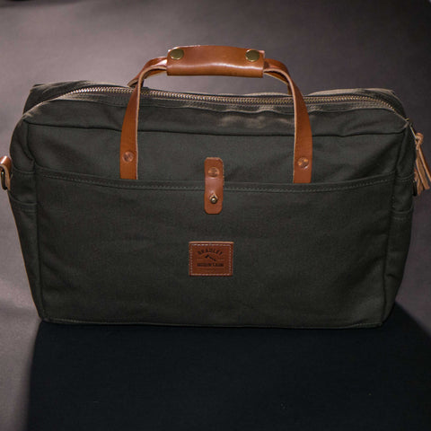 OLIVE COURIER BRIEFCASE