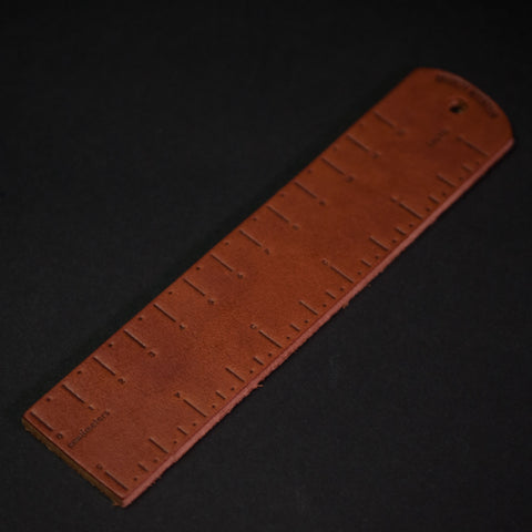 Bradley Mountain Leather Ruler at The Lodge