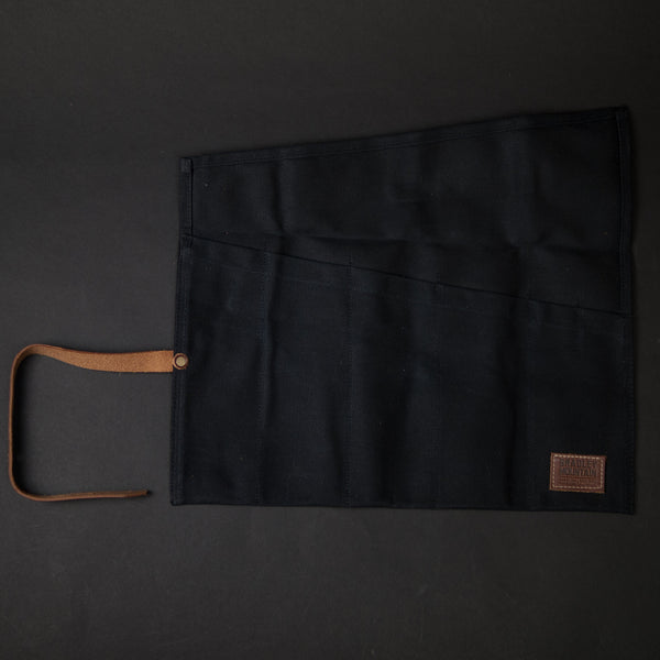 Bradley Mountain Waxed Tool Roll Black at The Lodge