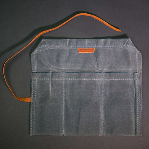 Bradley Mountain Charcoal Waxed Canvas Utility Roll at The Lodge