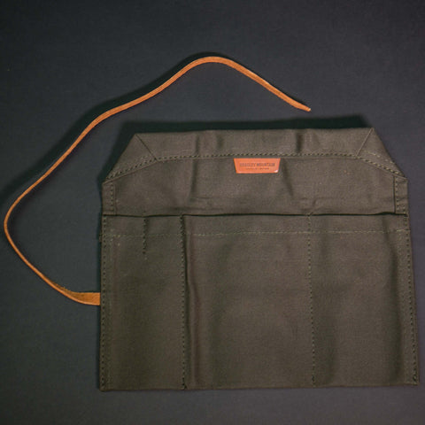 Bradley Mountain Utility Brief Waxed Cotton Olive Drab at The Lodge