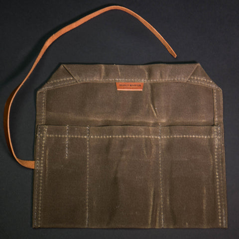 Bradley Mountain Utility Roll Tan Waxed Cotton at The Lodge