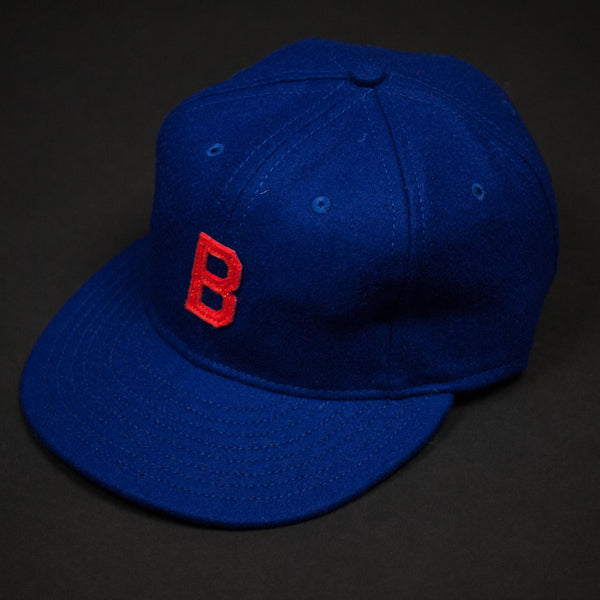 EBBETS FIELD FOR THE LODGE 1914 BROOKLYN TIP TOPS BLUE WOOL CAP - THE LODGE  - 1