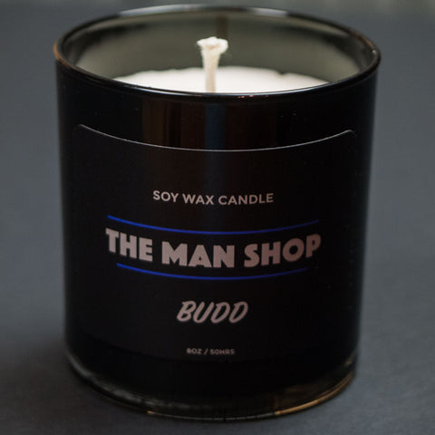 The Man Shop Budd Cannabis Candle at The Lodge
