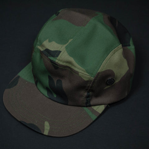 Camouflage Camp Hat at The Lodge