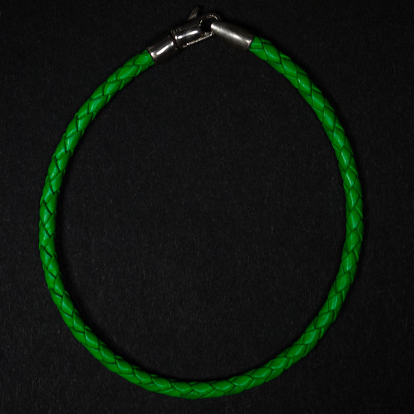 CAPUTO BRAIDED BRACELET GREEN FINAL SALE - THE LODGE  - 1