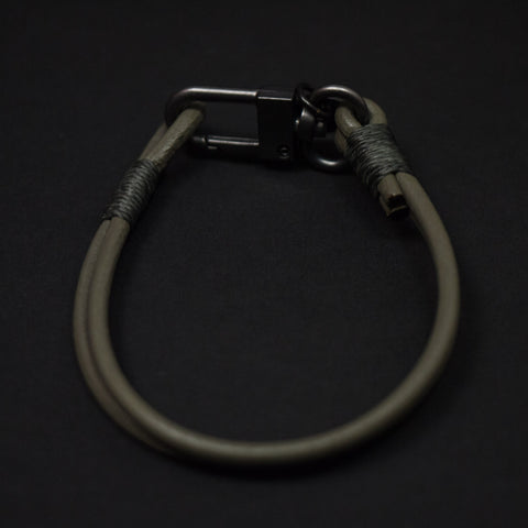CAPUTO GREY CRAFTSMAN LEATHER BRACELET