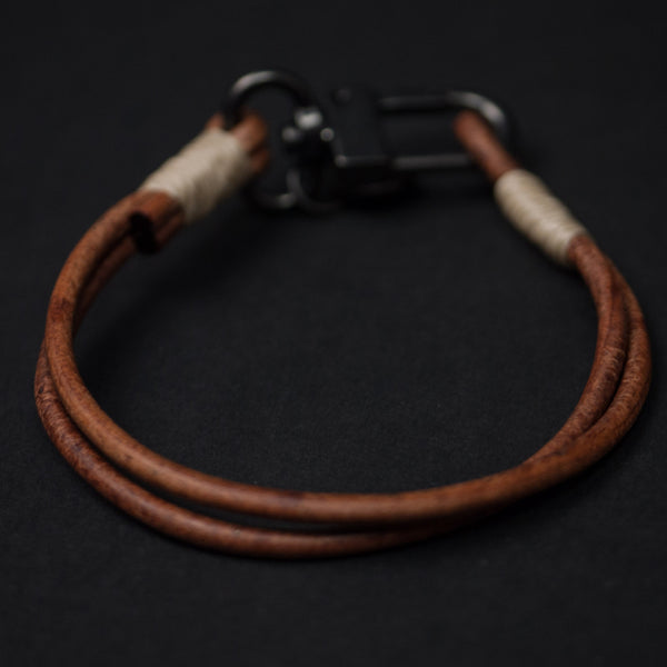 Caputo Tan Craftsman Leather Bracelet at The Lodge