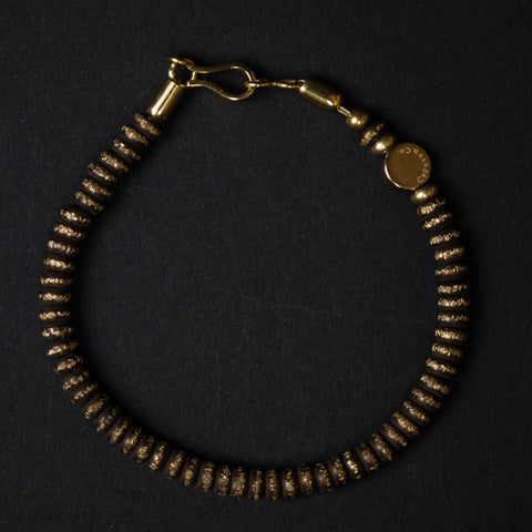 Caputo Brass Beaded Bracelet at The Lodge