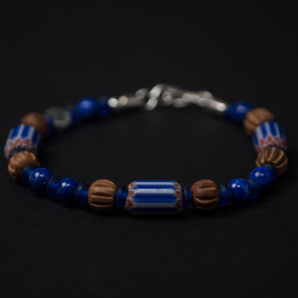 Caputo & Co Lapis Lazuli Traveler Bracelet at The Lodge