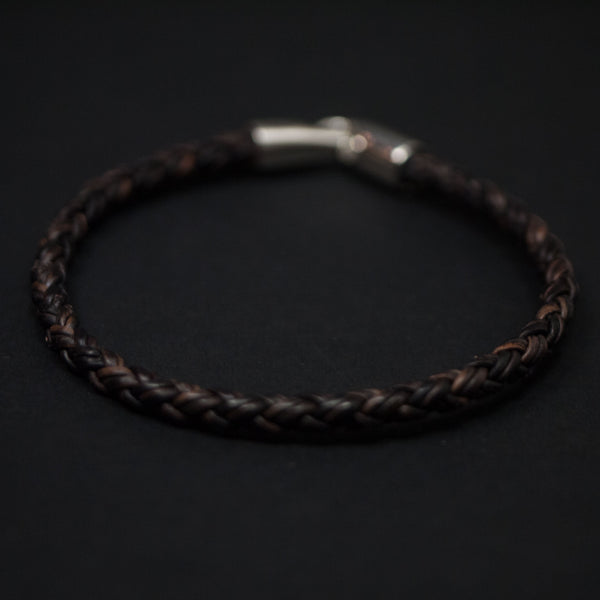 Caputo Unique Leather Braided Bracelet at The Lodge