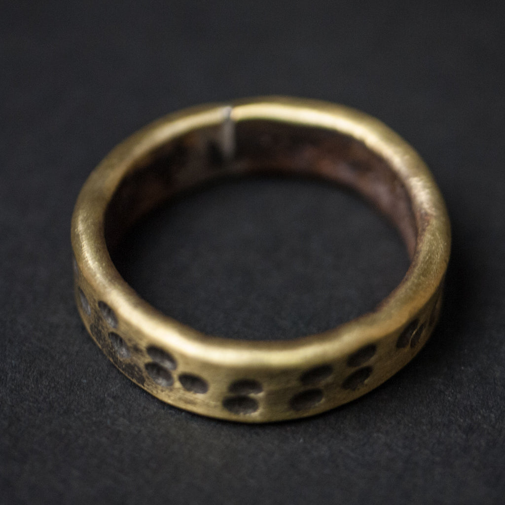 BRASS 19TH HOLE RING