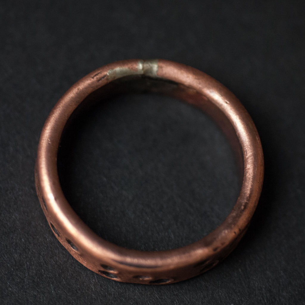 COPPER 19TH HOLE RING