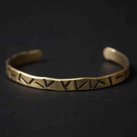 Cause & Effect Brass Cigars Metal Bracelet at The Lodge