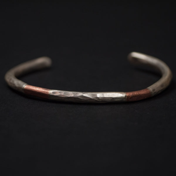 Cause & Effect Brookdale Sterling Silver and Copper Bracelet at The Lodge
