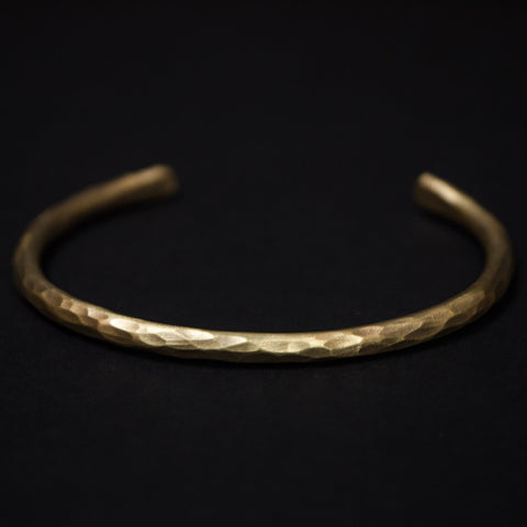 Cause Effect Chimney Rock Brass Hammered Bracelet at The Lodge