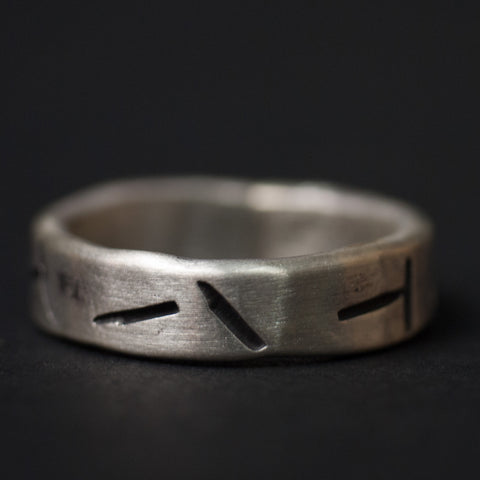 Cause & Effect Cigars Ring Sterling Silver at The Lodge