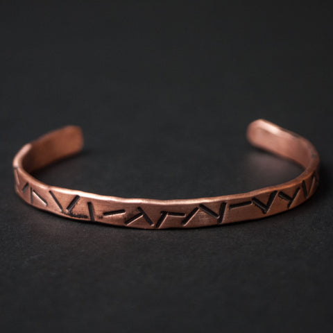 Cause & Effect Copper Cigars Metal Bracelet at The Lodge