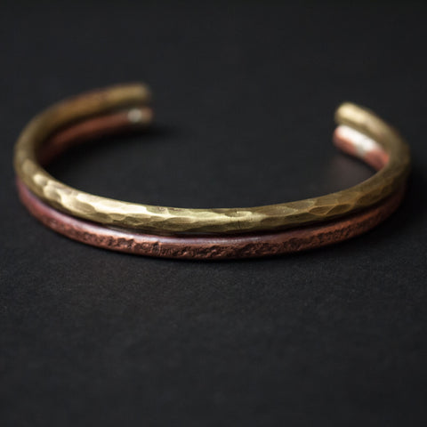 Cause & Effect Double Shot Copper and Brass Bracelet at The Lodge