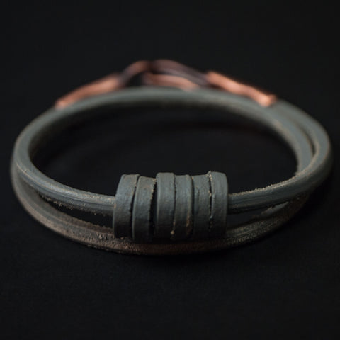 Cause & Effect Grey On a Roll Double-Wrap Bracelet at The Lodge