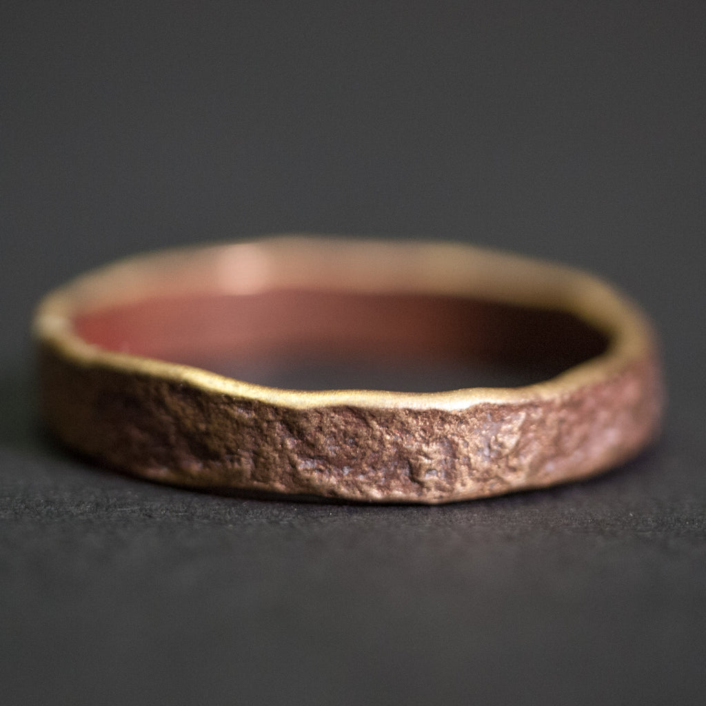 Cause & Effect Brass Weathered Liberty Men's Ring at The Lodge