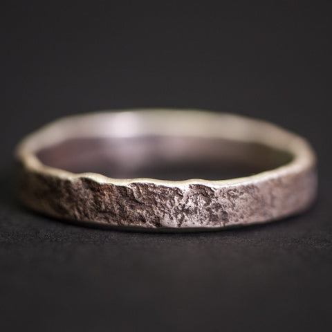 Cause & Effect Sterling Silver Liberty Weathered Men's Ring at The Lodge