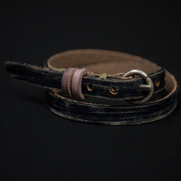 Cause Effect Old Hickory Double Wrap Leather Bracelet at The Lodge