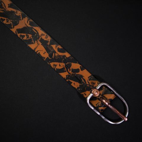 Cause & Effect Rust Galapagos Leather Men's Belt at The Lodge