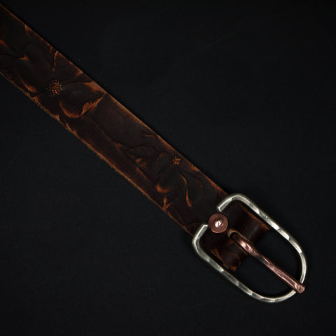 Cause & Effect Dogwood Leather Belt Brown at The Lodge