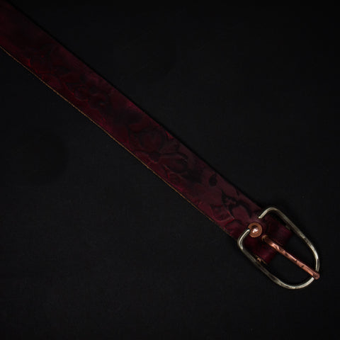 Cause & Effect Dogwood Leather Belt Russet at The Lodge