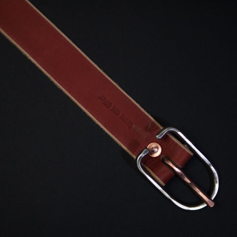 Cause and Effect Red Rocks Leather Men's Belt at The Lodge