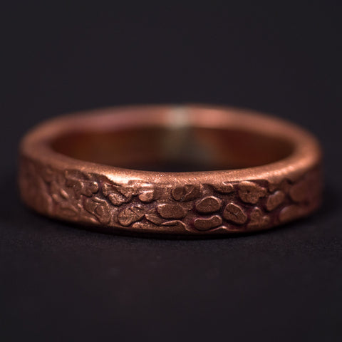 Cause and Effect Copper The Rock Men's Ring at The Lodge Man Shop