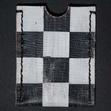 CHECKERED PAINTED LEATHER RODEO WALLET CAUSE & EFFECT