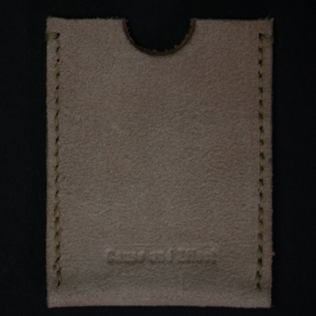NATURAL LEATHER RODEO WALLET CAUSE & EFFECT