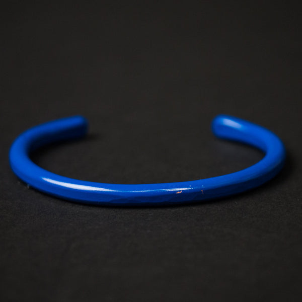 Royal Blue Handmade Cause & Effect Copper Cuff at The Lodge