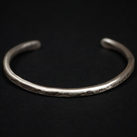 THIN STERLING SILVER CUFF - THE LODGE  - 1
